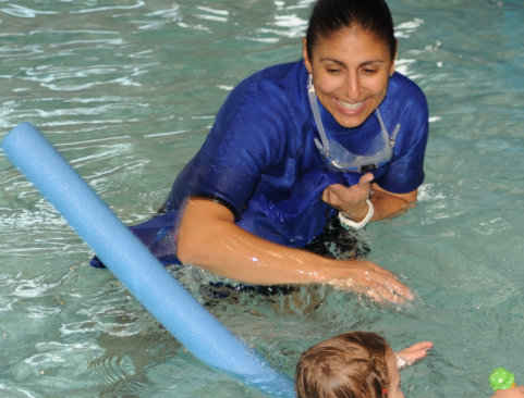 Barbara Walsh from Duck and Dive Baby Swim School
